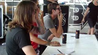 Escape The Fate Judging Rockband:7/15/09