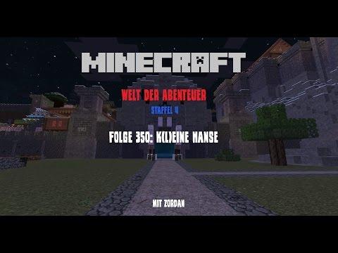Folge 350: K(l)eine Hanse – Minecraft – Welt der Abenteuer [Let's Play, Deutsch]