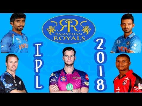 IPL 2018 Rajasthan Royals predicted probable squad| RR team player list prediction IPL 11