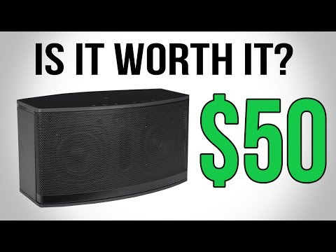 Is A Walmart Bluetooth Speaker Worth It? | Blackweb Tsunami