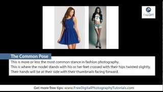 Basic Fashion Photography Poses | Free Photography Tutorials, Tips and Tricks