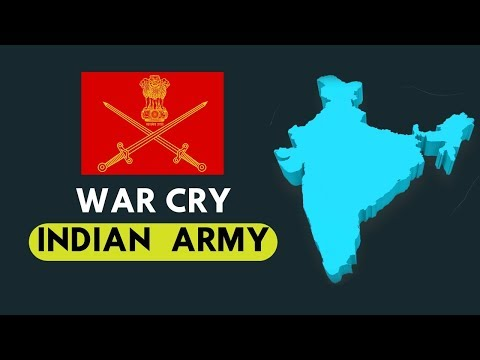 List Of War Cries In Indian Army