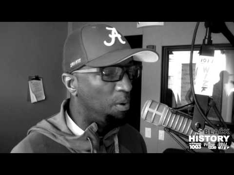 Rickey Smiley talks #MyBlackHistory on 1011 The Wiz