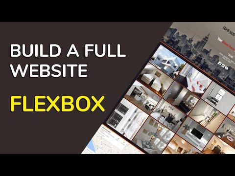 WYSIWYG Web Builder 12. Creating a full website with FlexBox