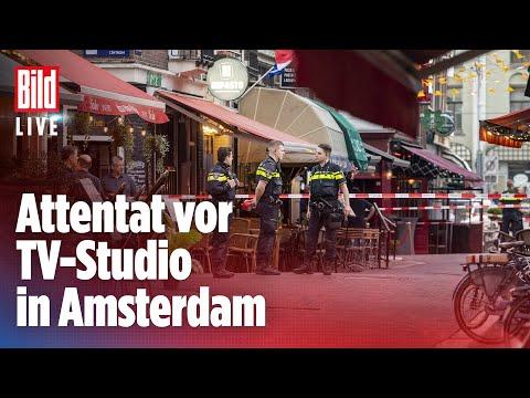 🔴 Schüsse in Amsterdam: Polizei-Reporter De Vries kämpft um sein Leben | BILD Live
