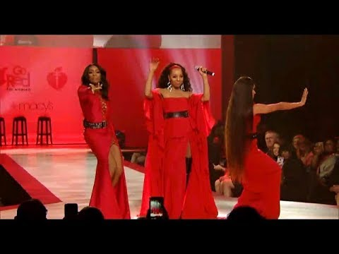 En Vogue | New York Fashion Week | American Heart Association | Go Red For Women Collection | NYFW