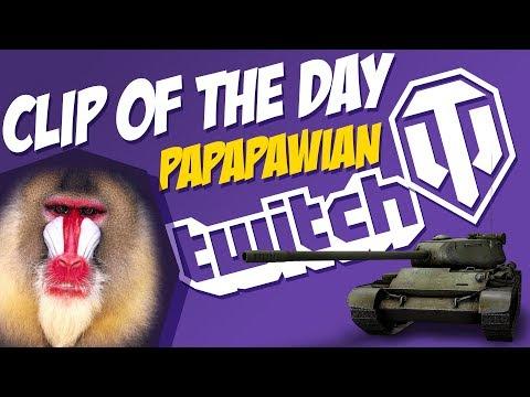 Downhill stuntman ride!    PaPaPawian   World of Tanks