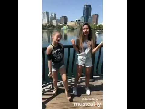 🎵Gina And Pam🎵 (Danielle Cohn And Jazlyn G) (Musical.ly)