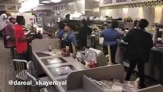 NEW FREEZER CHALLENGE.(Waffle House  fast food workers trials. )