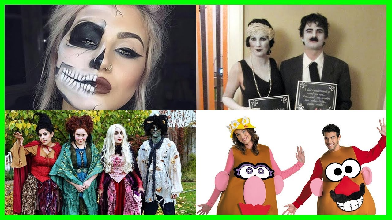 ghost and unusual halloween costumes best friends and groups. horror