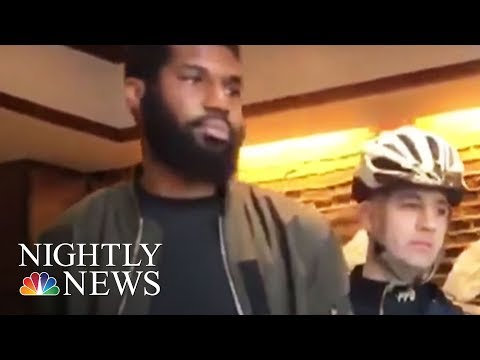 Outrage After Two Black Men Arrested At Philadelphia Starbucks | NBC Nightly News