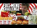 THE SUPERCHARGED CHICK FIL A MENU CHALLENGE! (10,000+ CALORIES)