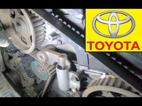 How to replace the timing belt kit on a Toyota Avensis 2.0 D-4D (CDT250_)