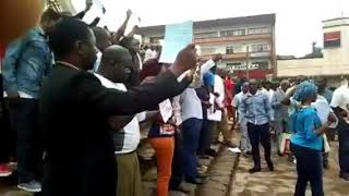 Breaking News! Yaounde Joining The Protest! Watch & See.....