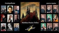 Matthäus-Passion Online mit Caterva musica