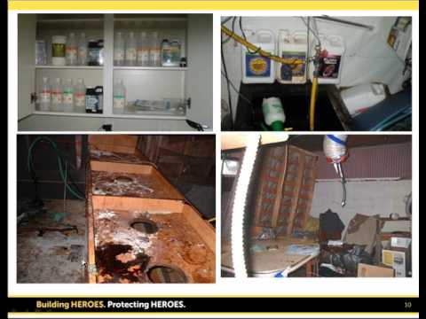 An Industrial Hygienist's Role in the Clean-up of Clandestine Laboratories