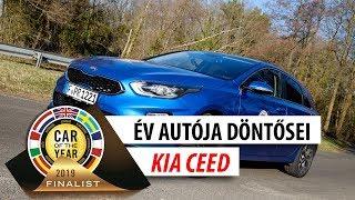 Év Autója döntősei: Kia Ceed