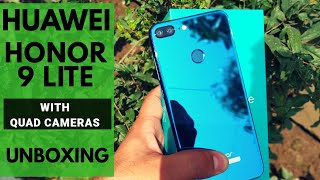 Huawei Honor 9 Lite Unboxing | Honor 9 Lite Blue | Camera Samples and Quick Hands On