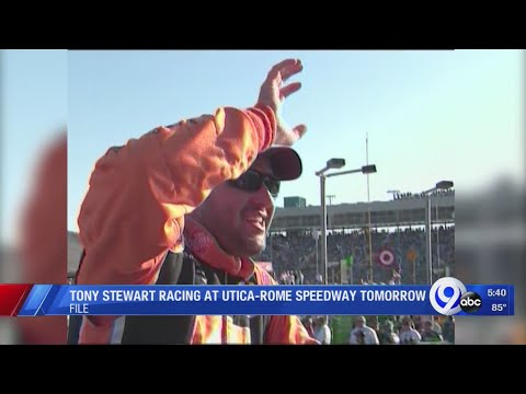Tony Stewart to race at Utica-Rome Speedway Friday night