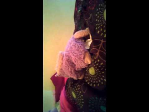 Talking stuffed animal part one