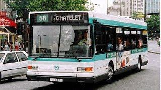 RATP Busse in Paris 2013 - buses in Paris - les bus à Paris