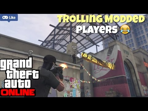 GTA V online | Trolling Players With Modded Account o_O | Live PS4 Broadcast | GTA 5 online