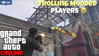 GTA 5 Online   Trolling Players With Modded Account   PS4 Pro