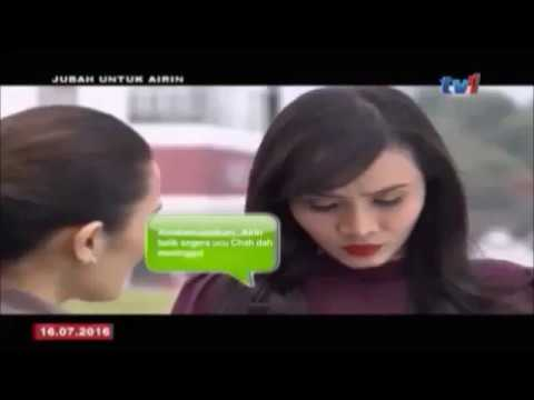 Telefilem Jubah Untuk Airin; Siti Elizad & Uqasha Senrose