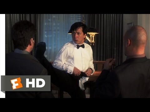 The Tuxedo (7/9) Movie CLIP - Pants Only Defense (2002) HD