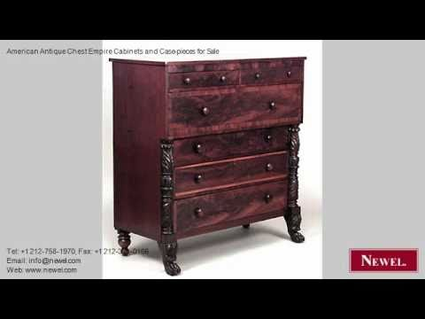 American Antique Chest Empire Cabinets and Case-pieces