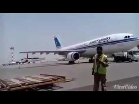 Airport ground staff masti