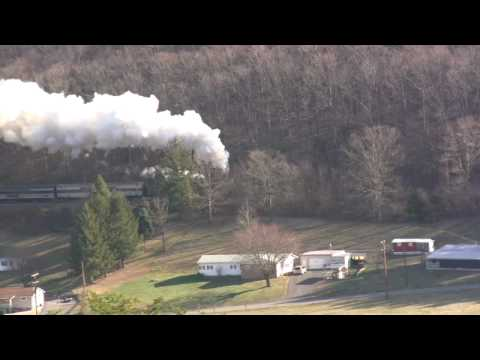 WMSR #734 - The Santa Express At Helmstetters Curve