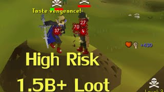 BigBicep - High Risk PKing 1.5B+ Loot - Oldschool Runescape