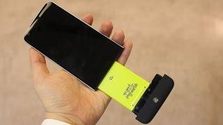 LG G5 İlk Bakış ve LG G4 Kıyaslaması