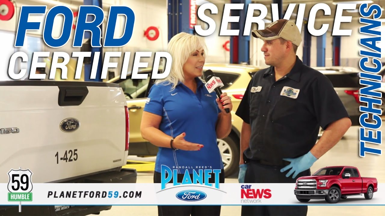 Planet Ford 59 >> Ford Certified Technician Pablo Speaks About Vehicle Maintenance At Planet Ford 59 Humble Texas