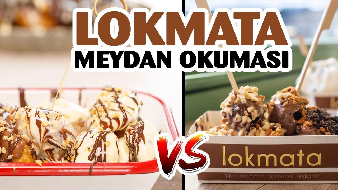 Lokmata (Challenge) Meydan Okuması | Evde Çikolatalı Lokma Tatlısı Yapımı Tarifi