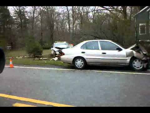 High Bridge, NJ accident scene March 31, 2012