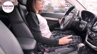 Review Ghế Massage Cho Ôtô Beurer MG155   Thích Hợp Dùng Cả Trong Ôtô và Ghế Thường