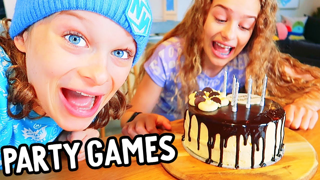 DRAMA AT BIGGY'S PARTY BIRTHDAY GAMES Challenge By The Norris Nuts