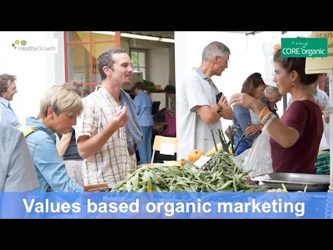 Organic market growth with integrity and trust: values based marketing  - HealthyGrowth (Nov 2016)