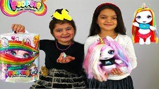 Masal and Öykü pretend play Poopsie Slime Unicorn FULL BOX Opening!!! Funny Kids Video
