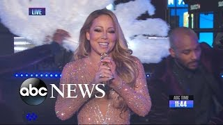 Mariah Carey: 'Mortified' by New Year's Eve Mishap