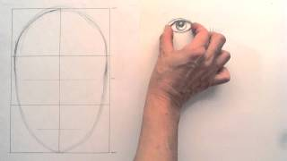 Val Webb - The Illustrated Garden - How to Draw a Human Face - Part 1.wmv