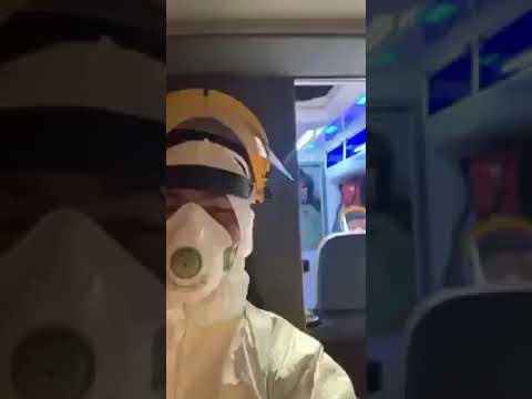 Polish Paramedics GHOSTBUSTERS In Ambulance CORONAVIRUS