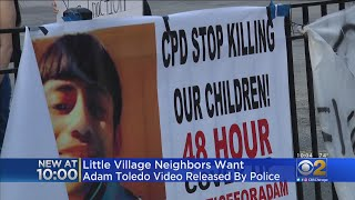 Community Joins Call For Video Release Of Police Shooting That Killed 13-Year-Old Adam Toledo