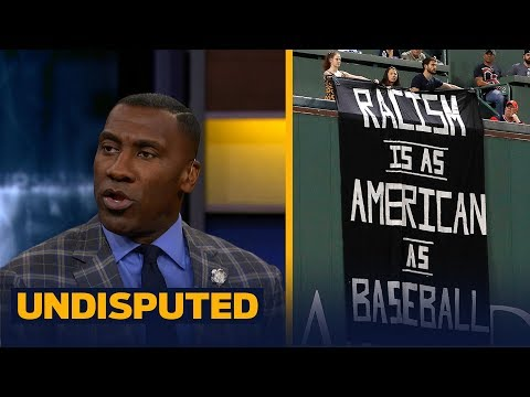 Shannon Sharpe praises 'racism is as American as baseball' banner at Fenway | UNDISPUTED