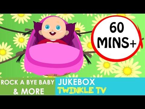 Rock A Bye Baby | English Nursery Rhymes | Lullaby | 1 Hour | Kids Songs | Rhymes