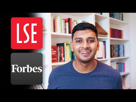 School Leaver, LSE Teacher, Forbes 30 Under 30 and Startup F