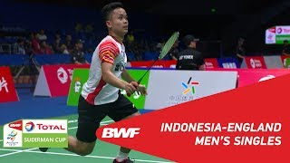 Download Video G1 | MS | Anthony GINTING (IND) vs  Toby PENTY (ENG) | BWF 2019 MP3 3GP MP4