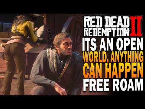 It's An Open World, Anything Can Happen - Red Dead Redemption 2 Free Roam Members Only Chat thumbnail